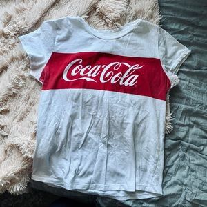 Lucky brand coco-cola graphic tee